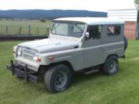1964 Nissan Patrol Front Drivers Side View