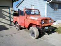 1966 Nissan Patrol in Pueblo Colorado