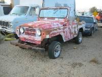 1967 Nissan Patrol in Junkyard