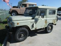 1969 Nissan Patrol Side View
