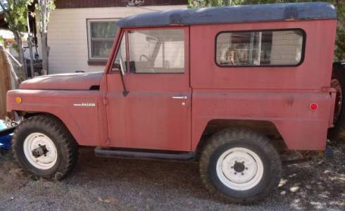 Craigslist Tucson Cars And Trucks By Owner >> 1969 Nissan Patrol 4wd For Sale In Tucson Arizona