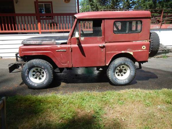 Nissan Patrol For Sale Craigslist >> 1967 Nissan Patrol For Sale in Maltby, Washington